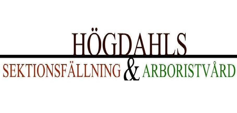 Högdahls Sektionsfällning & Arboristvård