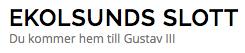 Ekolsunds Slott RF AB